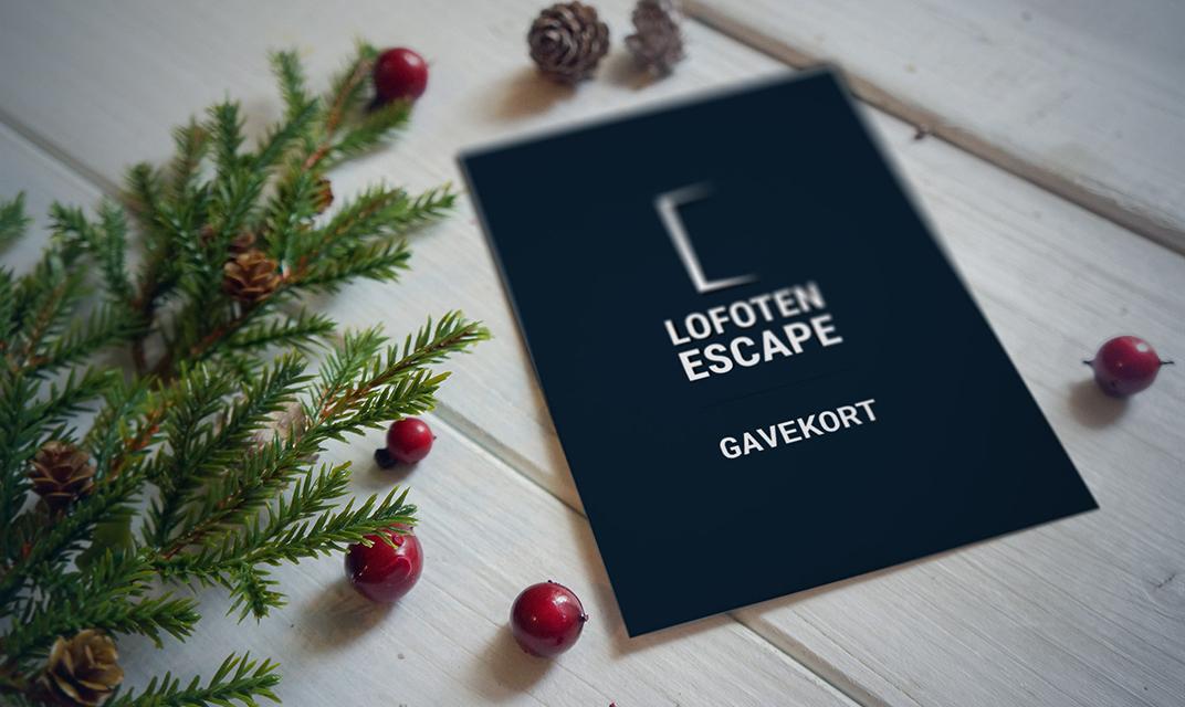 Årets julegaveidé, gavekort!